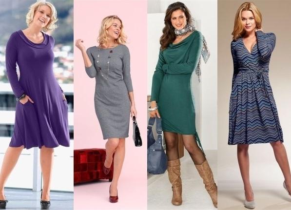 Женщины за 40 в коротких платьях