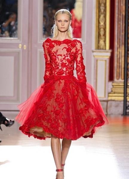 Платья из кружева 2014
