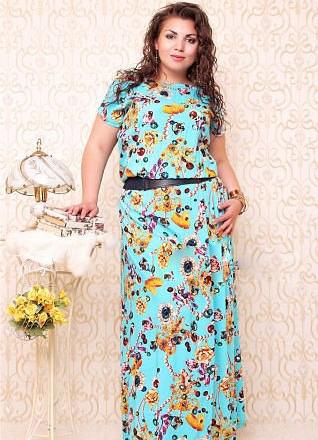 Платья из штапеля для дома