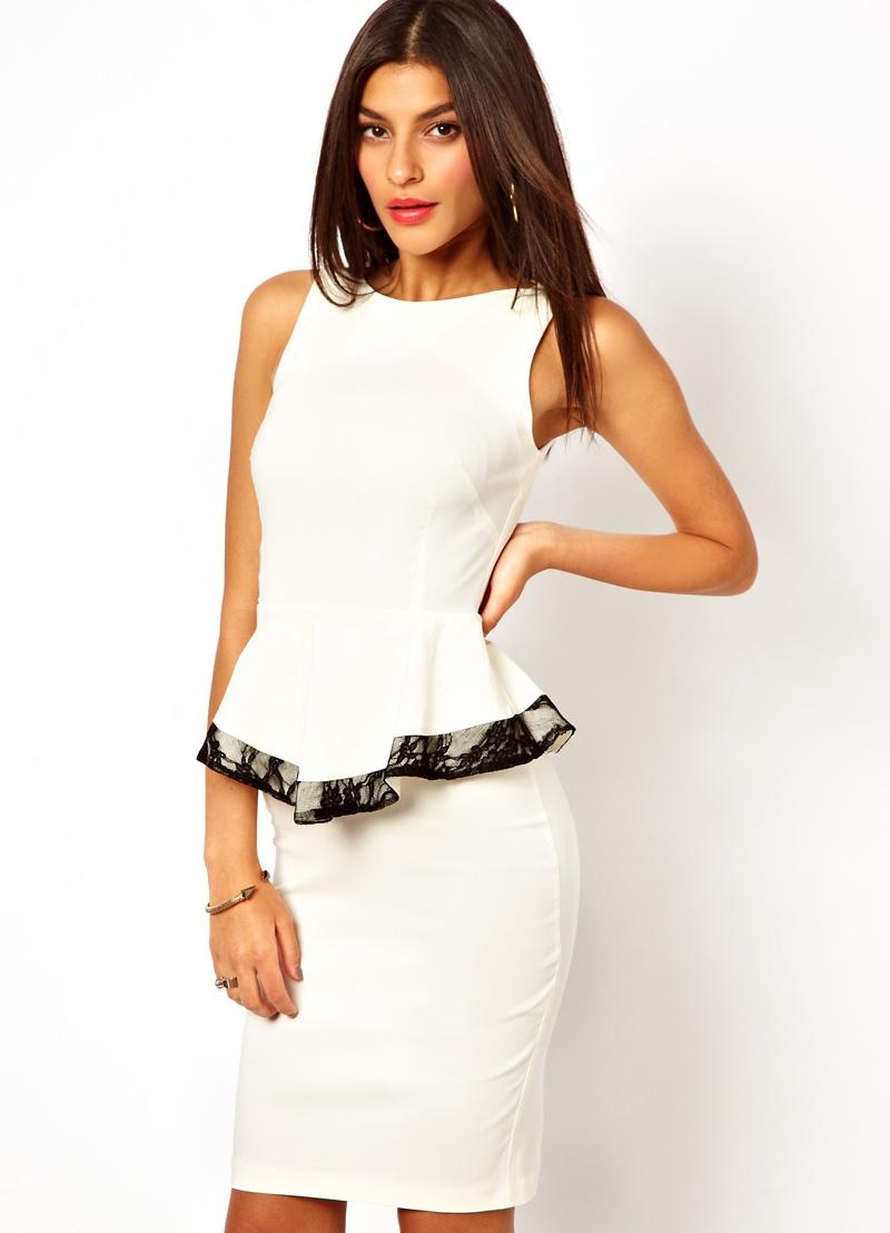 платье с воротником рубашечным фото