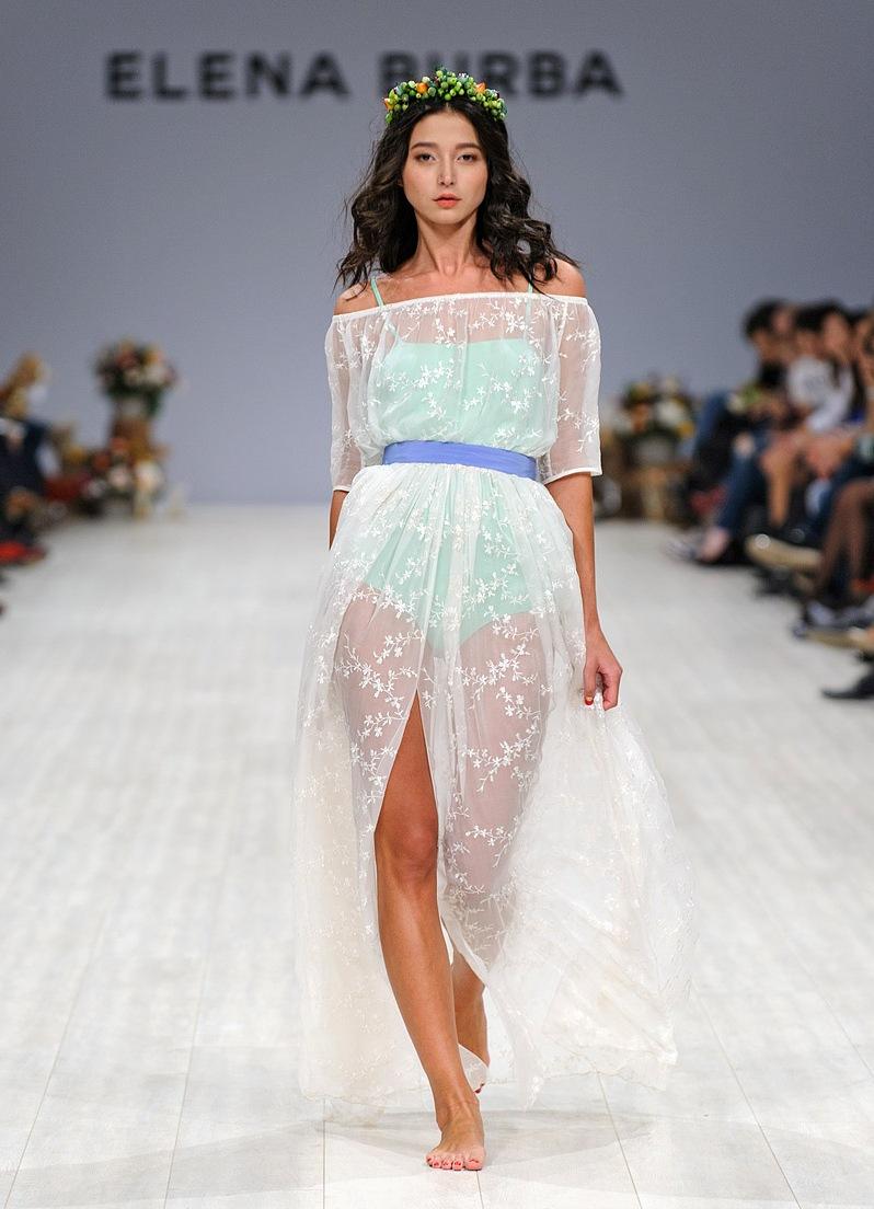 Летние юбки 2014 в пол