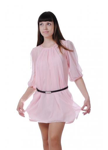 Ремень на легком платье