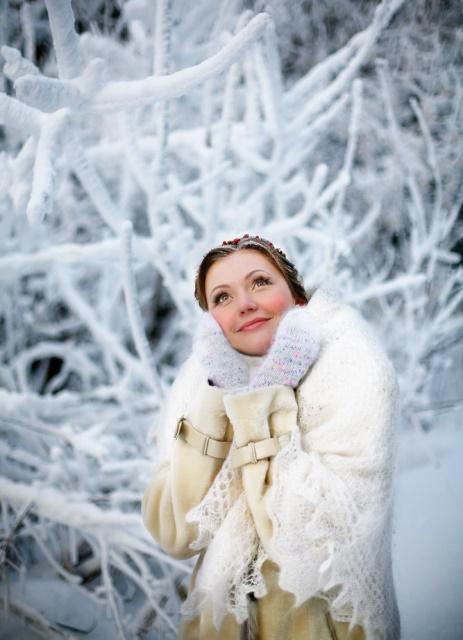 Идеи зимней фотосессии для влюбленных