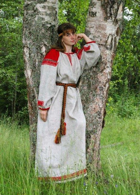 Русская женская одежда фото 54