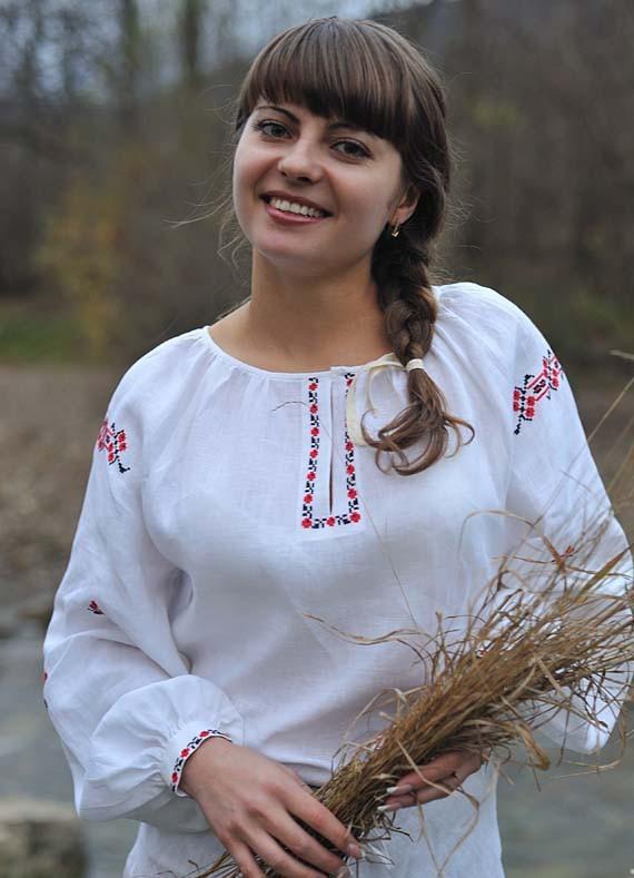 Женская славянская рубаха своими руками 14