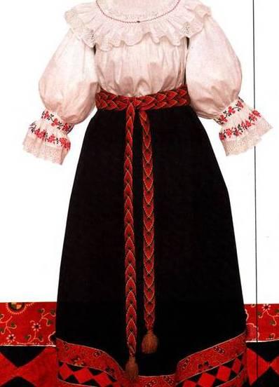 русское национальное свадебное платье фото