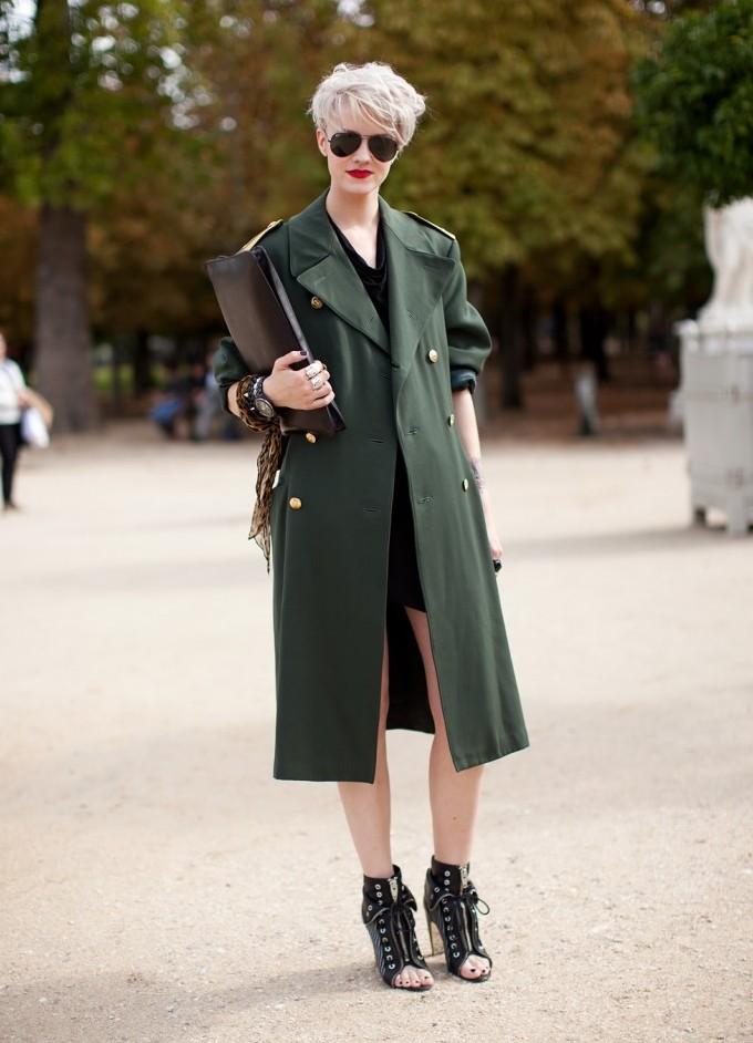 Пальто шинель.с чем носить
