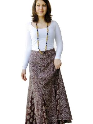 С чем носить пышную юбку на талии 185