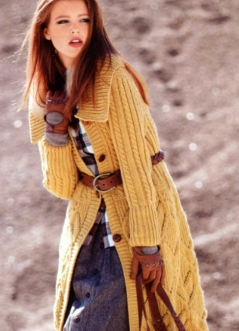 Красивенное вязанное пальто для девочки!!! - вязаное пальто для девочки спицами с описанием - на бэби.ру