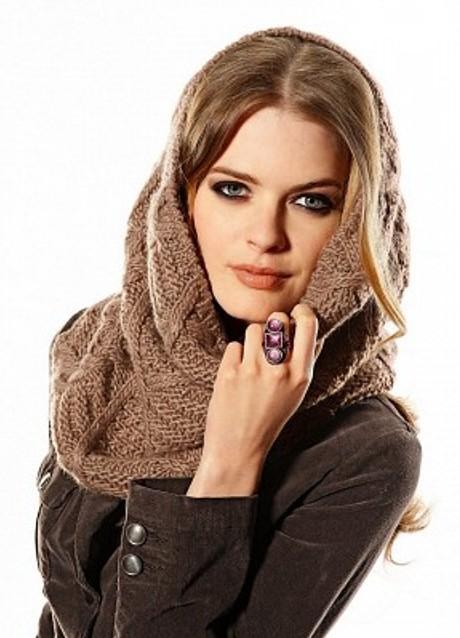 Как одеть шарф на голову