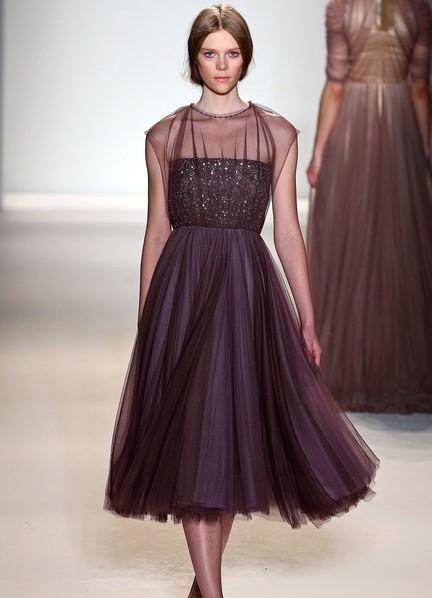 Шифоновое платье от шанель