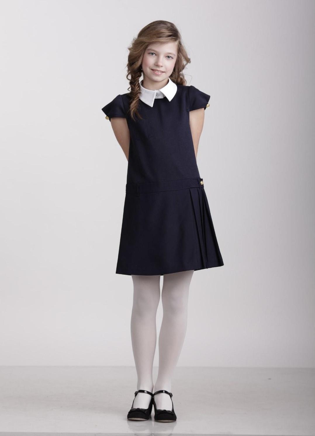Платье для девочек с принтом