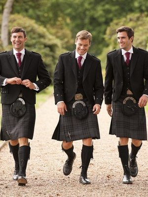 Шотландцы юбках фото