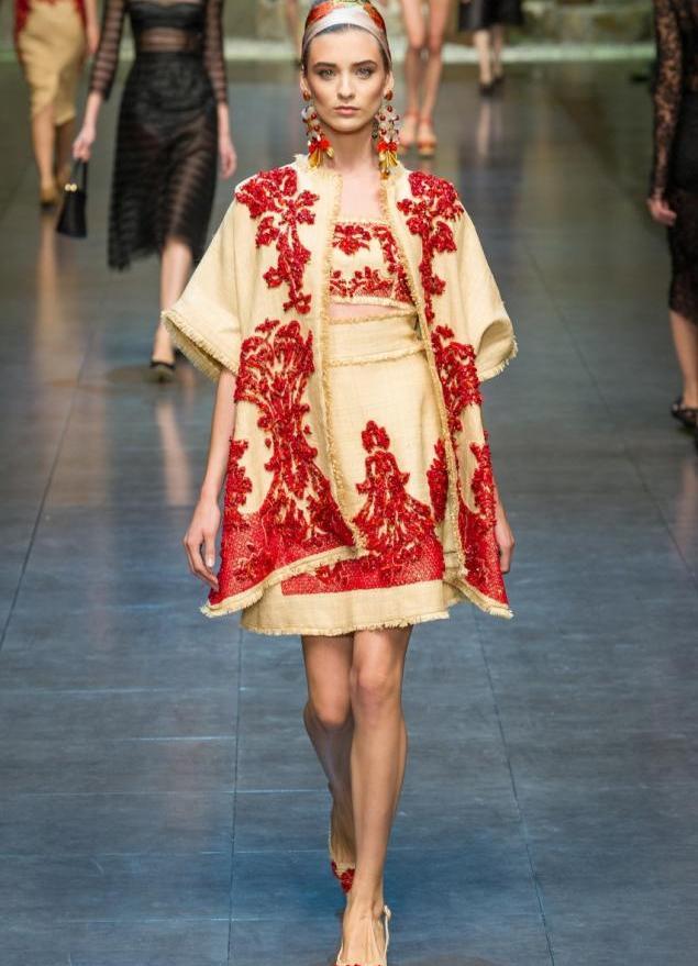 Славянский стиль вышивка