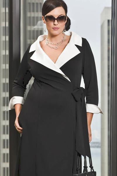и стильная одежда для полных женщин