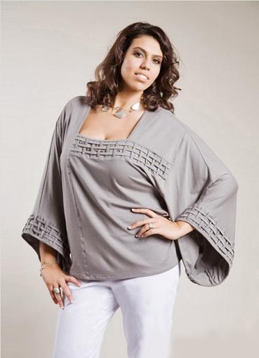 Стильная одежда для полных женщин