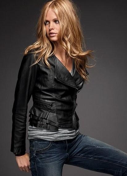 кожаные стильные куртки фото
