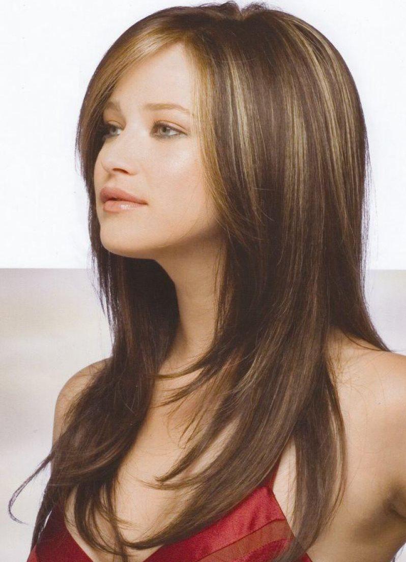 Стильные стрижки на длинные волосы - 0e