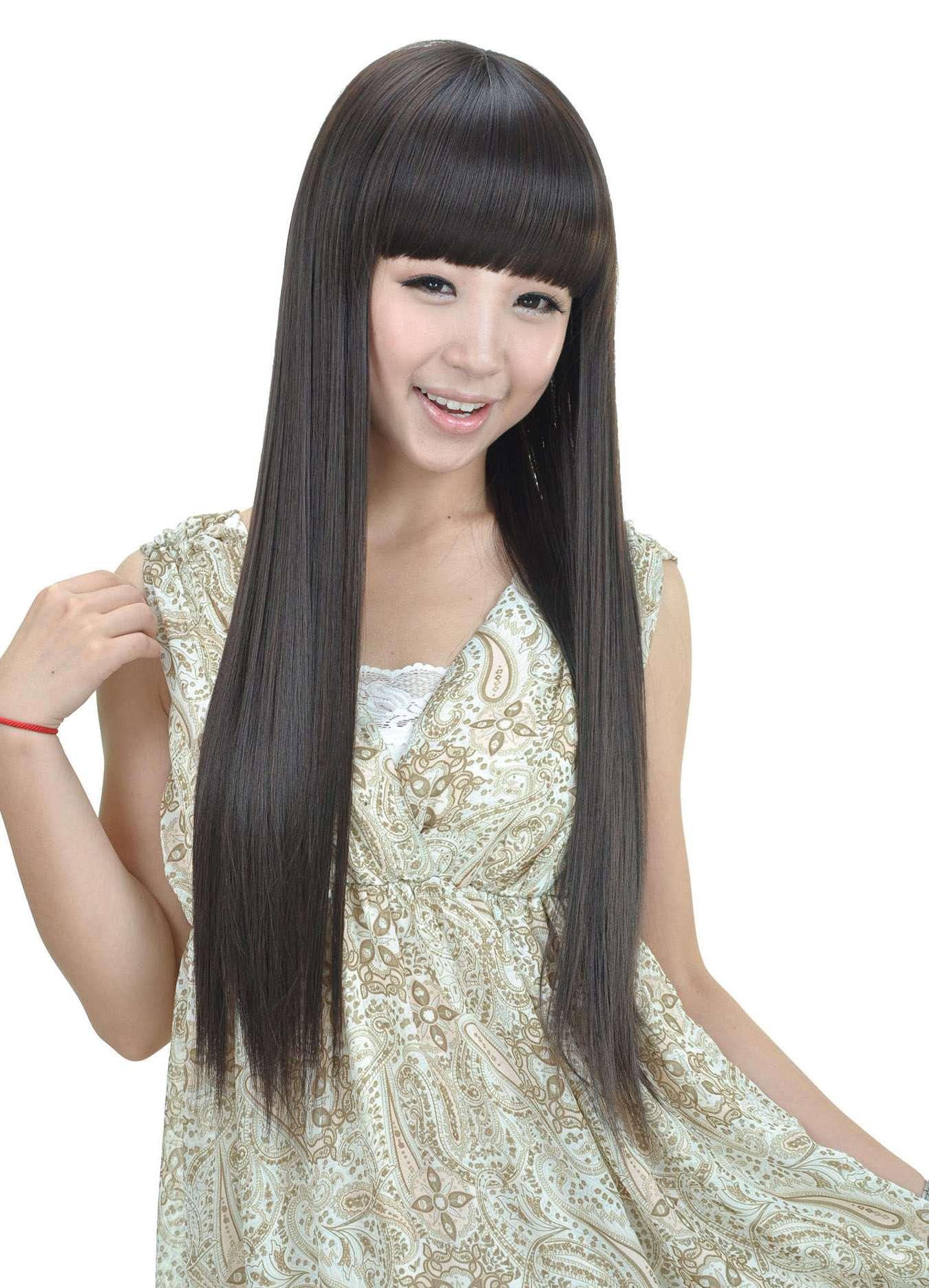 Стильные стрижки на длинные волосы - a