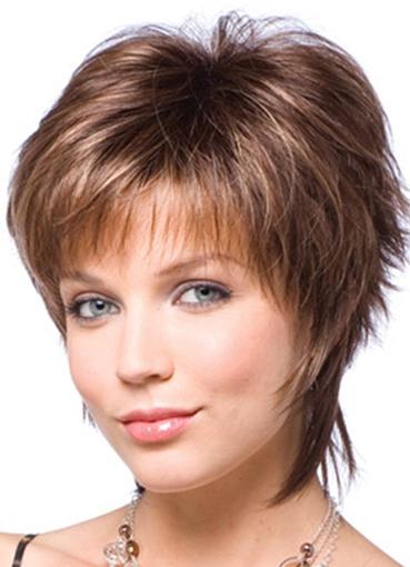 Стильные стрижки на средние волосы 2016 фото женские для круглого лица - 5c9