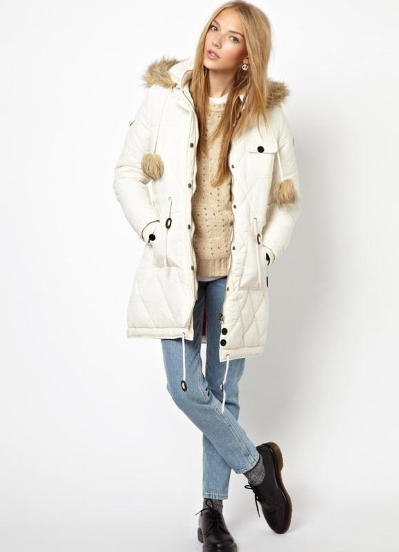 Элегантная Зимняя Верхняя Одежда