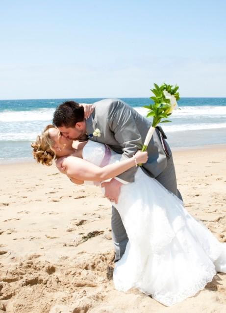 Свадебная фотосессия на пляже 9