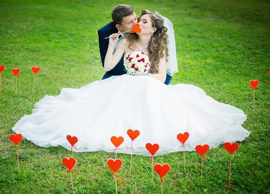 Свадебные украшения для фотосессии своими руками