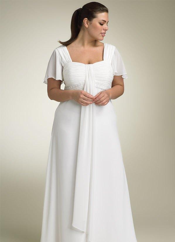 Свадебные платья для полных женщин 10