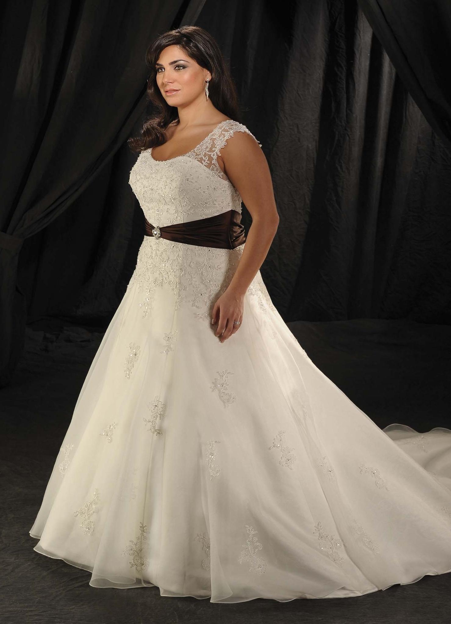 кружевные свадебные платья для полных
