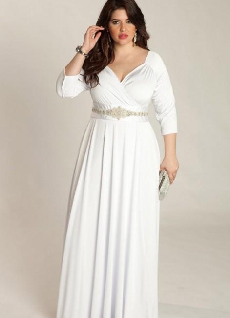 свадебные платья для полных невест 1