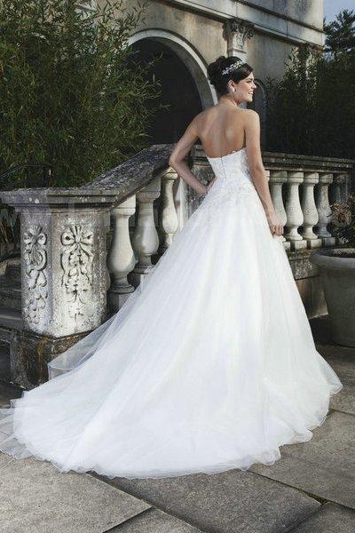 свадебные платья со шлейфом 2014 1