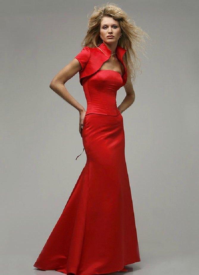 Красная платья