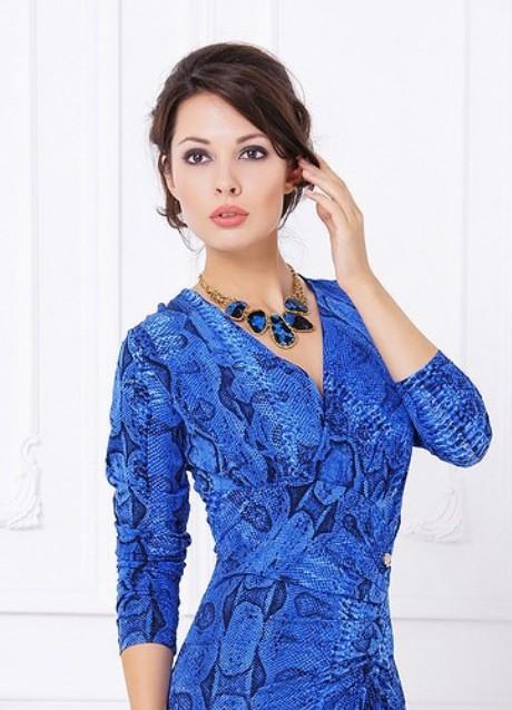 Украшения под синие платье фото