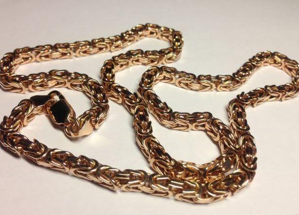 Плетение цепочек из золота мужские