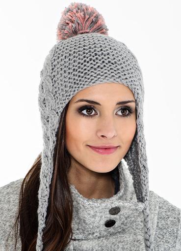 Какие модели вязаных шапок будут в моде (фото) изоражения