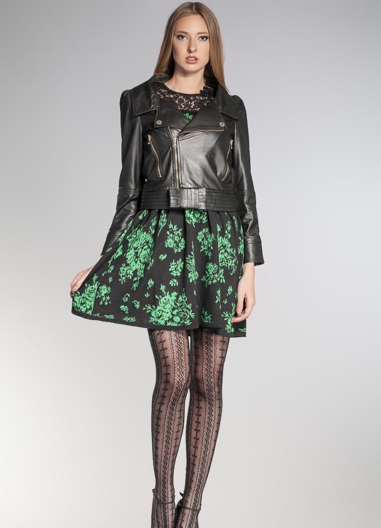 Женские кожаные куртки весна 2014 1