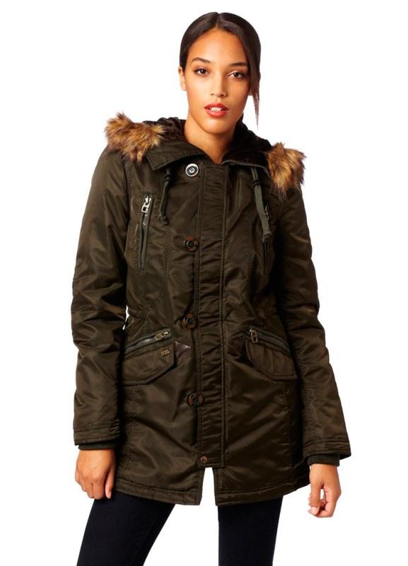 Длинные женские куртки – весна 2014