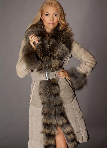 Пальто Меховое Женское