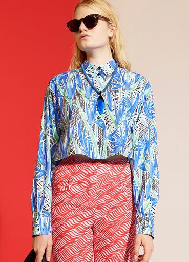 Дизайнерские блузки 2014