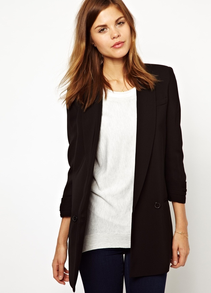 женский пиджак удлиненный фото