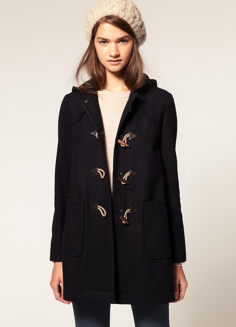 Женское пальто драповое
