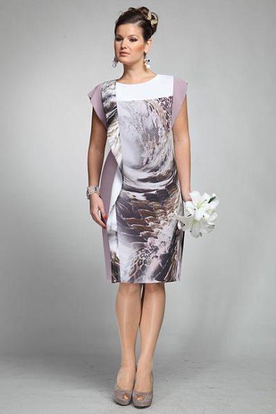 Нарядное платье своими руками для женщины