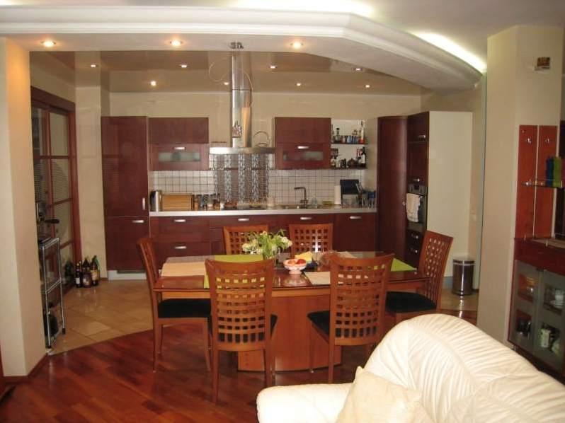 Кухня совмещенная дизайн интерьер фото