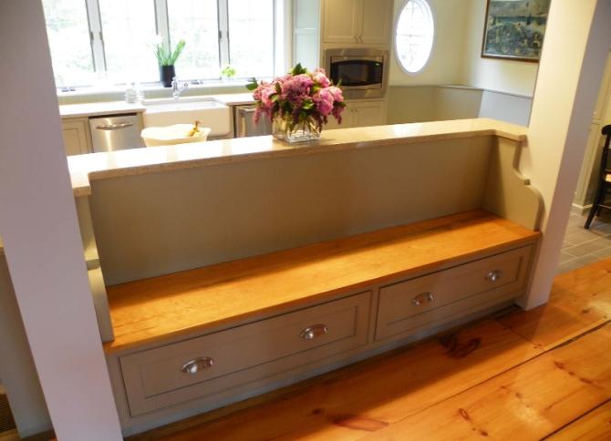Кухонная скамья с ящиком своими руками