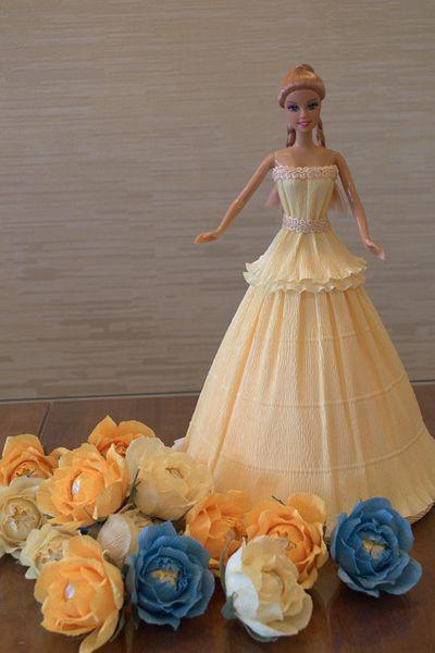 Сплести Платье Для Барби Из
