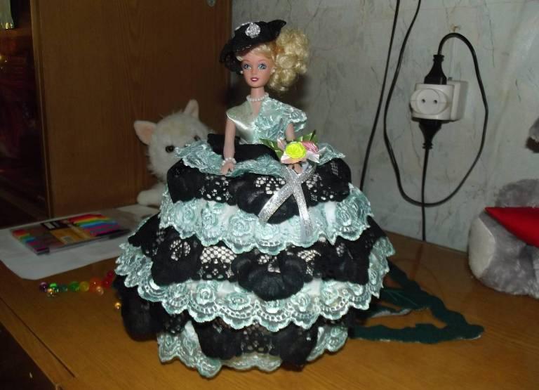 Шкатулки с куклой барби своими руками