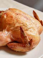 Курица, фаршированная рисом в духовке