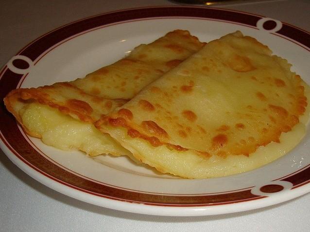 Кыстыбый с картофелем пошаговый рецепт с