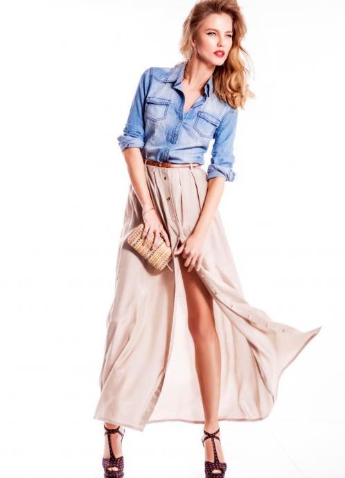 Легкие юбки