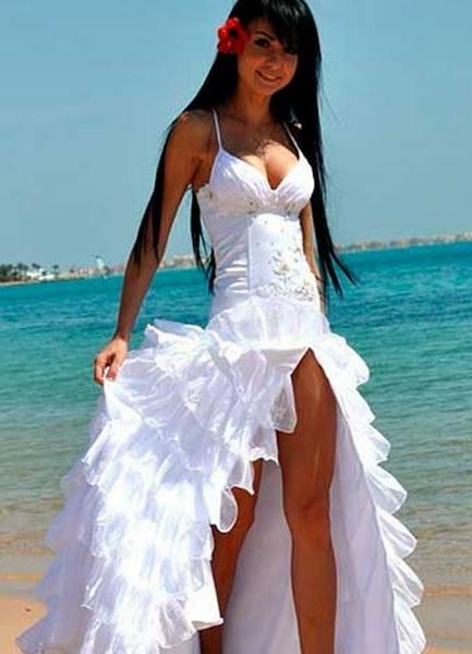 Платья Для Свадьбы На Пляже Фото